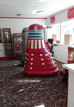 One of the attractions of Blackpool in the was a Dalek ride that was situated (as I recall) in an amusement arcade on the cent. Seaside Resort, Dalek, Blackpool, Torchwood, Dr Who, Tardis, Happy Day, Robots, Doctor Who