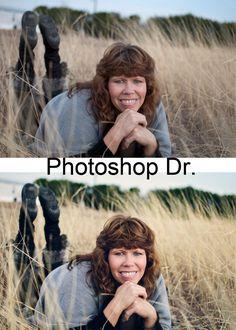 Tutorial Tuesday: Photoshop Dr. | Morgan Kervin Photography