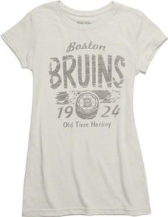 Boston Bruins Women s Old Time Hockey Melino Tri-Blend T-Shirt by Old Time ec88a0fac