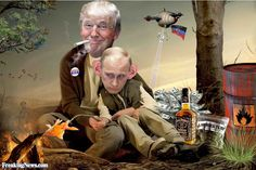 """Donald Trump: """"I would have a great relationship with Putin"""""""