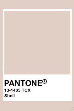 Pantone Shell Pantone colo palette for art and home decor Pantone Swatches, Color Swatches, Pantone Colour Palettes, Pantone Color, Colour Pallete, Colour Schemes, Decoration Inspiration, Color Inspiration, Paleta Pantone