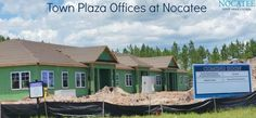 Town Plaza Offices at Nocatee will soon welcome Brillium, Inc., an Edward Jones financial advisor, Ponte Vedra Pediatric Dentistry and Orthodontics, and Psych Ed Connections. Building 100 (for these businesses) is expected to be complete this August.