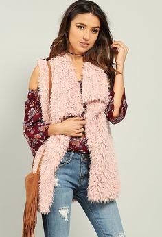 Faux Fur Vest $30.99