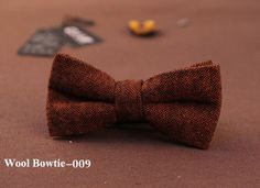 Fashion Wool Bow Tie Mens Casual Business Bowtie Womens Wedding Party Cravat British style Butterfly Ties Free Shipping