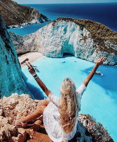 Zakinthos, Greece   via: besteurope on IG    by@pilotmadeleine.