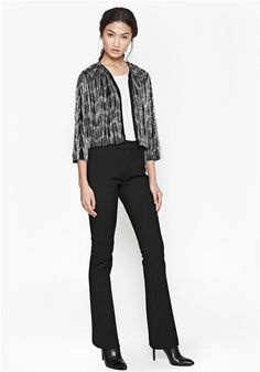 A/W at Redlane Boutique. This chain-fringed jacket is absolutely STUNNING! Check out our website to see the full collection! Fringe Jacket, French Connection, Absolutely Stunning, Suits, Boutique, Chain, Jackets, Website, Collection