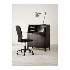 HEMNES Secretary - black-brown - IKEA (own it, love it)