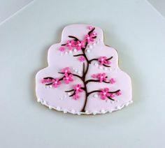 Delicious Cherry Blossom Sugar Cookies