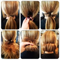 can do the side braid too. up hairstyles for medium hair - Google Search