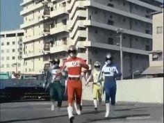 Denshi sentai Denjiman Episode 1 电子战队电子人 第1集