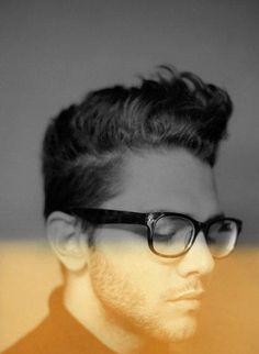 Rockabilly style haircut for men
