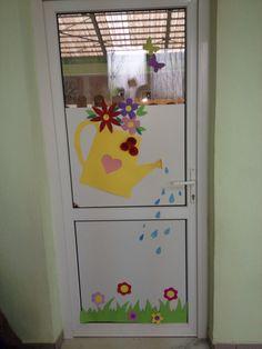 Door decoration Preschool, Decoration, Crafts, Home Decor, Decor, Manualidades, Decoration Home, Room Decor, Kid Garden