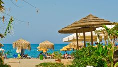 Find lowest rates at Sonio Beach Hotel Agia Marina Beach, Beach Hotels, Crete, Greek Islands, Gazebo, Tourism, Outdoor Structures, Places, Turismo