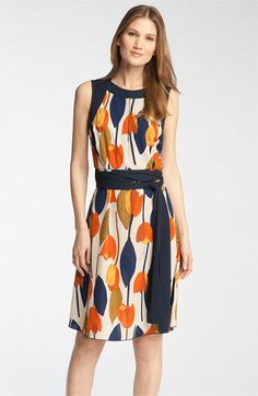 Tory Burch 'Atley' Print Dress available at #Nordstrom