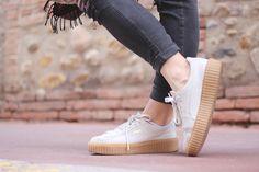 Sneakers Creepers Rihanna x Puma Fenty Beige                                                                                                                                                                                 Plus