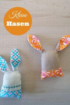Kleine Hasen zu Ostern nähen