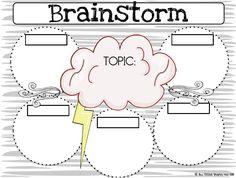 One Extra Degree-brainstorming graphic organizer