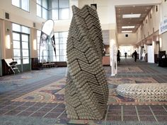 3D printed earthquake-proof column based on Incan structural designs