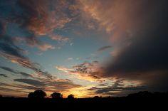 Sunset over Driftwood, TX