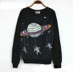 Fashion 2013 New Sweatshirt Women Cartoon Pullovers Letter Galaxy Sweater Print Space Star 3d Sweatshirts Hoodies Top, http://www.amazon.com/dp/B00FZUIRVO/ref=cm_sw_r_pi_awdl_MltIsb01VCE8G