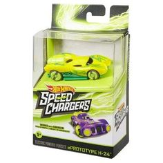 Hot Wheels Speed Chargers Prototype H24 Car - Yellow