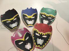 Power ranger masks