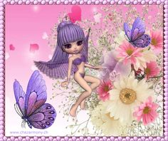 Tag d'été animé 2 - Créations Armony Tinkerbell, Disney Characters, Fictional Characters, Angels, Creations, Fairy, Animation, Cartoon, Dolls