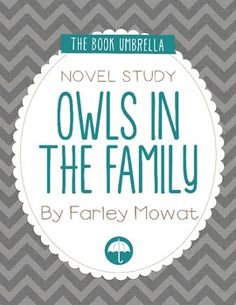 Owls in the Family  This is a novel study for Owls in the Family by Farley Mowat. 21 pages of work for students, plus an answer key!  This novel study divides Owls in the Family into three sections for study. The chapters are grouped as follows: Chapter 1-4, 5-8, 9-11.