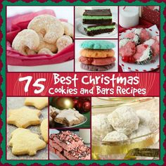75 Best Christmas Cookies and Bars Recipes