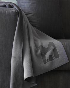 Hundetæppe i fleece (Grå) - Coperta - Petlux