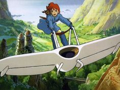I love this glider that Nausicaa rides. It is sleek in design and therefore…