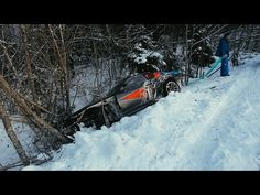 Crazy winter drift, Russia. Part 2 - YouTube