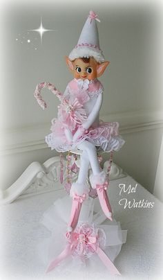 My most beautiful elf that we have created so far - this one is 20 inches tall ! <3 <3 <3