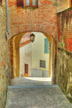 Vignale Monferrato, Italy. Coolest town, I've been to. (winter Europe trip, 2011-2012)