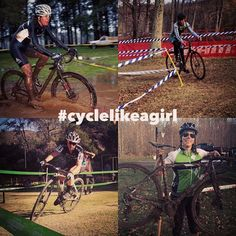 Lots of cyclocross tags from our @cyclelikeagirl community this weekend! Here is just a few from @maiafish @ashley.freiberg @carolinedezendorf @nopurplemonkey . Hope everyone had a great weekend!  #cyclelikeagirl to share your stories and follow @cyclelikeagirl to promote women's cycling together.  #womenscycling #cycling #mtb #cyclocross #track #roadbike #trackbike #triathalon #tri #tribike #qom #bike #bici #strava #stravacycling #stravaproveit #cyclingphotos #community