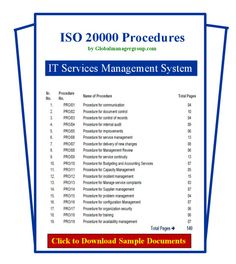 The ISO 20000 procedures documents designed and developed as per IT Services Management System standard and requirements of ISO 20000 certification by Global Manager Group. Safety Management System, Technology Management, Food Technology, Food Safety, Information Technology, Health Care, Entrepreneur, Autumn, Bar