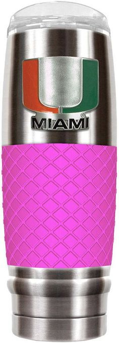 NCAA Miami Hurricanes 30-Ounce Reserve Stainless Steel Tumbler