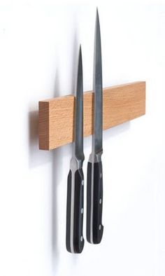 magnetic knife block - I have one in my rental and love it