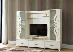 Tv Showcase Design, Bedroom Furniture Sets, Buildings, Wall, Home Decor, Furniture, Decoration Home, Room Decor, Walls