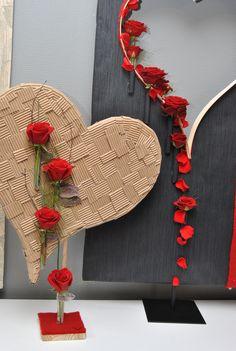 coeur, fleuriste, Bourg-en-Bresse création de Gaultier BUEY