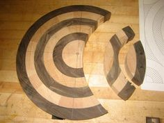 How I made my Intersected cutting board