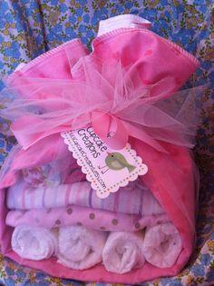 Diaper Baby Stork Baby Shower Gift Baby