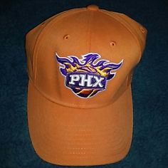 Phoniex Suns fitted hat Good shape no holes or stains. Not a stiif type hat. Loose until on head. Worn only a couple times. Decent hat Adidas Accessories Hats