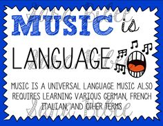 Awesome posters to connect music to the other curricular areas!  http://www.teacherspayteachers.com/Product/Why-Learn-Music-Music-Across-the-Curriculum-Posters-878162