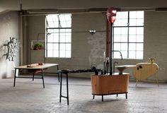 minimalistisk industristil