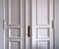 Holztüren richtig streichen