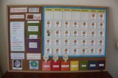 Classroom and Family Calendar Montessori Inspirations