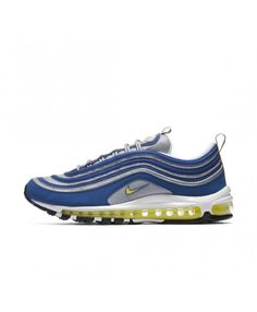 3b19668d9a1 Authentic Nike Air Max 97 Mens Blue Trainers Mens Blue Trainers