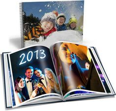New year's party photography in photo book. Do this every year and save your best memories! http://www.my-picture.co.uk/photo-book/  #mypicture #photobook