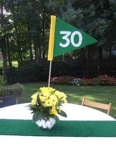 Centerpieces - Golf